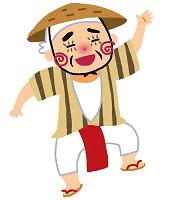沖縄のちゃんだー踊り