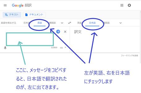 グーグル翻訳