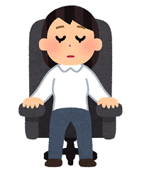 sleep_inemuri_reclining_chair_woman